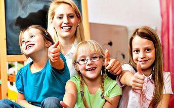 2hodinové hlídání dětí! V dětském centru se postarají o děti od 3 do 14 ve všední dny od 8 do 18 hod.!