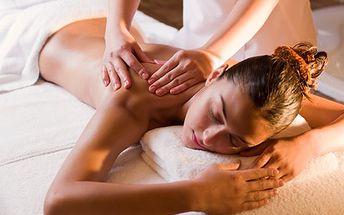 Hodinová relaxační masáž včetně příjemného bonusu vás vrátí do hry. V ceně masáž plosek nohou! Zapomeňte na stres, napětí a bolest!