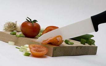 Luxusní sada keramického nože a škrabky jen za 229 Kč. Extrémní odolnost, dlouhá životnost čepele, neničí vitamíny a nemusí se brousit. Dvojice, kterou musíte mít ve své kuchyni.