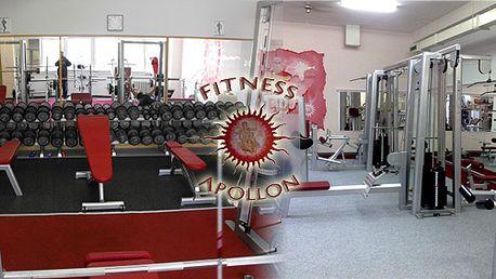 Výhodná permanentka na 20 vstupů do fitness centra APOLLON, platnost jeden rok! Posilovací stroje značky Grünsport!
