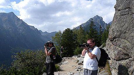 Fotografujte i Vy na vysoké úrovni. Naučí Vás to renomovaní fotografové na 5-denním kurzu v Tatrách jen za 2760 Kč