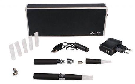 Kuřte zdravě díky revoluční elektronické cigaretě EGO-C! V ceně i příslušenství. Velmi snadné doplňování a užívání. Uspokojí i silné kuřáky!
