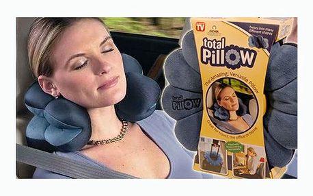 Zdravotní ergonomický polštář Total Pillow nyní za 139 Kč! Můžete jej ohýbat, zatočit, tvarovat - vše pro Vaše nejlepší pohodlí při cestách nebo u počítače! Sleva 77%!