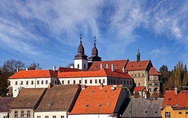 Ubytování se snídaní, wellness a fitness pro DVA! Tři dny v luxusním mezonetovém apartmánu v Třebíči – město s památkami UNESCO!
