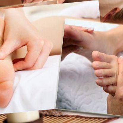 Hodinová reflexní terapie plosky nohou ZA POUHÝCH 249 Kč! Nechte se unášet na vlnách relaxace.
