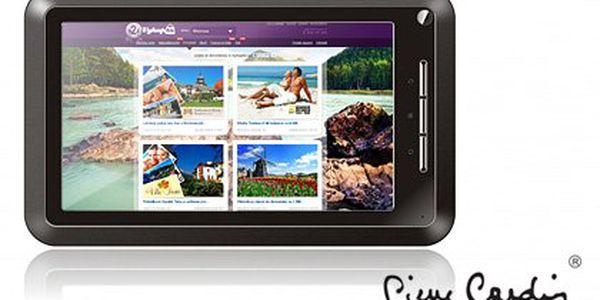 """Multimediální tablet Pierre Cardin – výkonný 1GHz procesor, přehledný 7"""" displej a operační systém Android 2.3"""