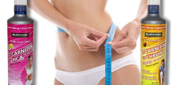 Balíček doplňků stravy L-Carnitin od 324 Kč pro efektivní spalování tuků!