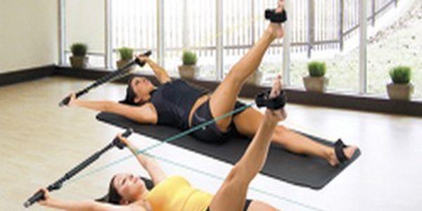 Přenosné Pilates studio. Skvělé řešení cvičení doma v soukromí. Čeká Vás štíhle a sexy tělo. Tvarování nohou, hýždí, rukou a stehen.