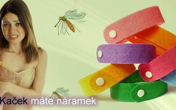Stylový repelentní náramek za neopakovatelnou cenu 10Kč (původní cena 129Kč)! Náramek je netoxický a VELMI ŠETRNÝ k pokožce. Náramek si můžete vzít všude, kde na Vás může zaútočit hmyz.
