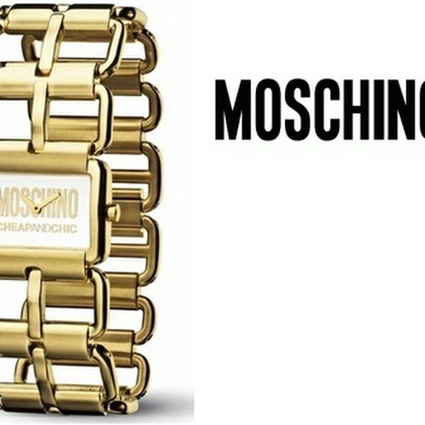 Pouhých 1 290 Kč za dámké hodinky značky Moschino. Na výběr 6 variant. Nyní se slevou 59%.