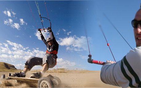 Profesionální kurz powerkitingu! V ceně kurzovného je zapůjčení draka, mountainboardu a bezpečnostního vybavení!