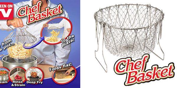 """Kuchyňský pomocník """"Chef Basket"""" 12v1 jenom za 149 Kč! vč. POŠTOVNÉHO!!!"""
