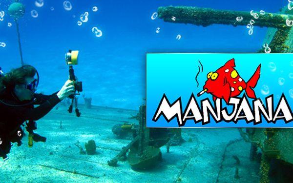 Vylepšete Vaší dovolenou o 7 denní potápěčský kurz na krásném Chorvatském ostrově Brač za cenu 2500 Kč