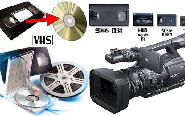 69 Kč za převod videozáznamu z VHS, VHS-C, mini DV na digitální média. Nemáte kde přehrát VHS kazetu? Převod na DVD je ideálním řešením!
