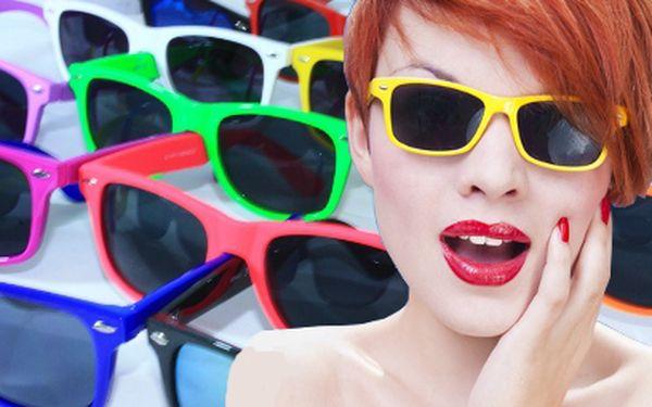 Parádní sluneční retro brýle za 99 Kč! Výběr z 11 módních barev!