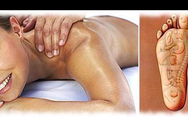 285 Kč za relaxační masáž zad a šíje + reflexní masáž chodidel. Dopřejte si přepychovou péči ve studiu Samet, odbourejte stres a posilte vaši imunitu, s 53% slevou.