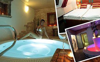 Luxusní pobyt pro DVA na 3 dny ve WINE Wellness Hotelu Centro Ubytování, 2x snídaně, romantická večeře, bohatý sportovní a Wine Wellness program. Užijte si whirlpool, parní, bylinkové, solné - vinné lázně nebo finskou saunu na jižní Moravě.