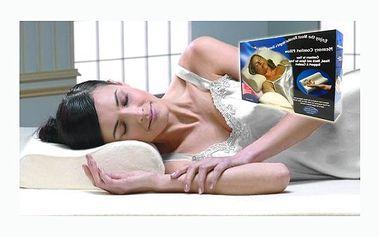 Anatomický polštář s paměťovou pěnou Memory pillow, který se přizpůsobí Vaší páteři. Nyní jen za 239 Kč! Pro dokonalý spánek bez bolesti. Sleva 82%!