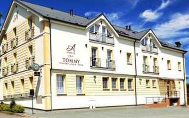 Třídenní letní pobyt v krajině příběhů v náchodském hotelu Tommy****. Speciální cena se slevou 46% pouze pro Vás!
