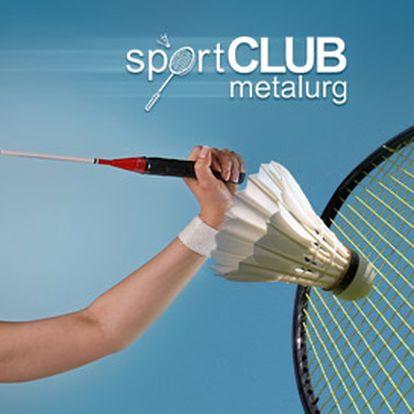 85 Kč za hodinu pronájmu profesionálního badmintonového kurtu. Možno zapůjčit i raketu a koupit košíčky. Zapinkejte si s poloviční slevou!