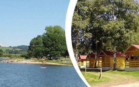 3 DNY pro JEDNOHO se snídaní na břehu Lipenského jezera Tři dny v 2 - 4 lůžkových dřevěných chatkách na břehu Lipenského jezera se snídaní. Nechte se kochat krásou CHKO Šumava, sportujte a odpočiňte si od denních starostí.