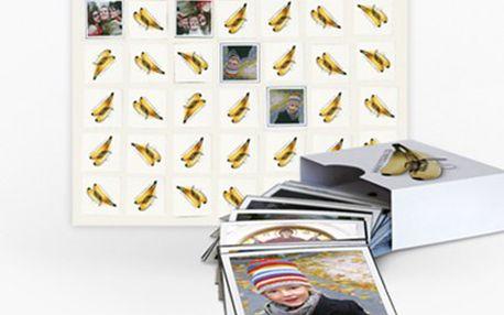PEXESO originálně: z Vašich fotografií Jedinečné zpestření klasické hry pexeso - všech 36 dílků z Vašich vlastních fotografií. Překvapte své blízké a uchovejte vzpomínky v legendárním pexesu.