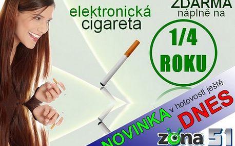 Oblíbená E-cigareta včetně příslušenství + náplně na čtvrt roku ZDARMA, ušetřete DESETITISÍCE, navíc šetříte své zdraví, jen za 299,-Kč, navíc možnost nákupu v HOTOVOSTI ještě dnes. Navštivte nás a užijte slevy ještě DNES