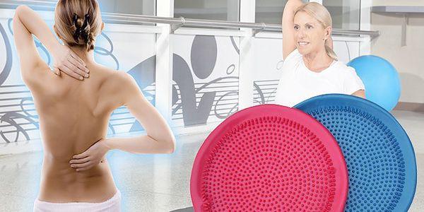 Masážní a balanční disk za pouhých 189 Kč. Disk masíruje svaly, posiluje, zpevní tělo a zlepšuje stabilitu. Cvičit na něm můžete kdekoliv, klidně i v kanceláři nebo autě.