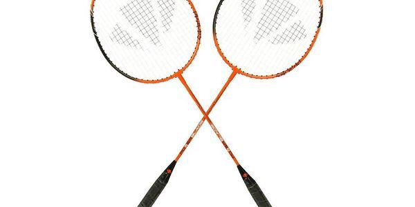 500,- Kč za badmintonový set Carlton pro 2 hráče včetně pouzdra, 3 košíčků a poštovného! Sleva 58%!