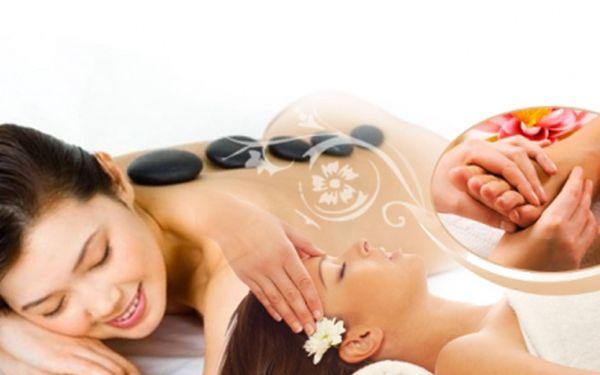 Využijte kombinované MASÁŽE za 299 Kč! 30 minut masáž lávovými kameny, 15 minut reflexní masáž chodidel a 15 minut indická masáž hlavy. Sleva 63% v centru Prahy!