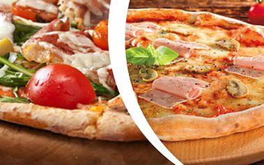 2x ITALSKÁ PIZZA SUPERIORE- výběr z 5 druhů Vychutnejte si dvě originální italské pizzy. Na výběr z pěti druhů - prosciutto, hawai, margherita a prosciutto funghi. K vyzvednutí v pizzerii.