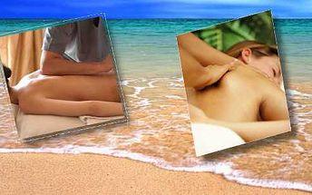 60 minut Havajské masáže LOMI LOMI zad, šíje, hýždí a nohou zezadu kokosovým BIO olejem. Jedná z nejvíce zážitkových, uvolňujících a relaxačních masáží.