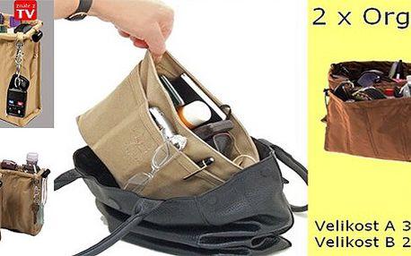 Praktický organizér do kabelky za pouhých 169,- Kč!!! Ušetří Vám spoustu času a také zajistí perfektní přehled nad Vašimi věcmi v kabelce!