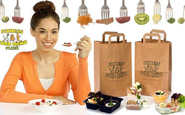 Fitness food menu – nutričně vyvážené menu s dovozem ZDARMA na 5 dní.