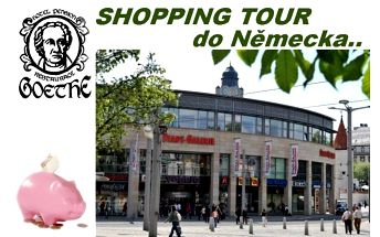 Dámská shopping tour za cenově výhodnými nákupy a úlovky z letních kolekcí v německu v hotelu goethe v aši!