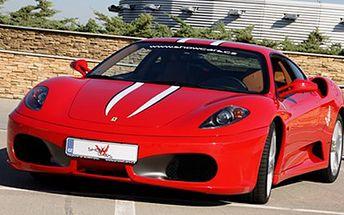 30 minut za volantem LUXUSNÍHO SPORTOVNÍHO VOZU Ferrari F430, Porsche 911 Turbo, Nissan GT-R nebo BMW M6 Hamann-Motorsport na vlastní kůži. 30 minut na dráze Letiště Hoškovice.