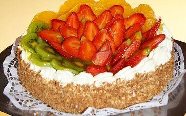 Luxusní dort o 1200 gramech! Pařížský, Kubánský, Harlekýn, Ovocný a další! Smlsněte si na cukrářské dokonalosti!