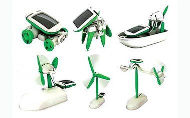 Pořiďte svým dětem naučnou hračku SolarBot 6v1 za 159 nyní se slevou 60%. Jde o solární stavebnici nové generace pro malé i velké. Ideální hračka, která spojuje zábavu se vzděláním.
