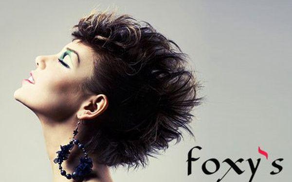 Profesionální kadeřnická péče L´Oréal – módní sestřih oživený melírem nebo barvou vám vytvoří profesionální kadeřnický tým Salonu Foxy's