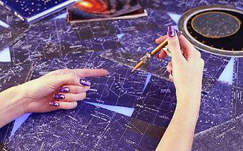 Vyzkoušejte kurz kreativní astrologie pro začátečníky! Víkendový workshop s občerstvením!