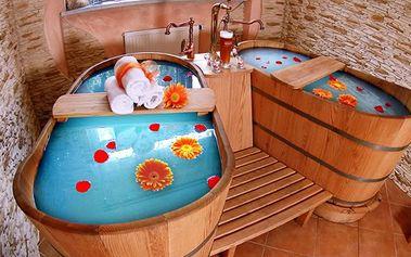 3denní wellness pobyt ve ****hotelu s vinnými lázněmi pro dva v Beskydech