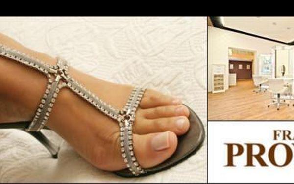 Luxusní pedikůra a P-Shine za pouhých 280 Kč! Nechte se hýčkat v proslulém salónu Franck Provost nyní se slevou 50%!