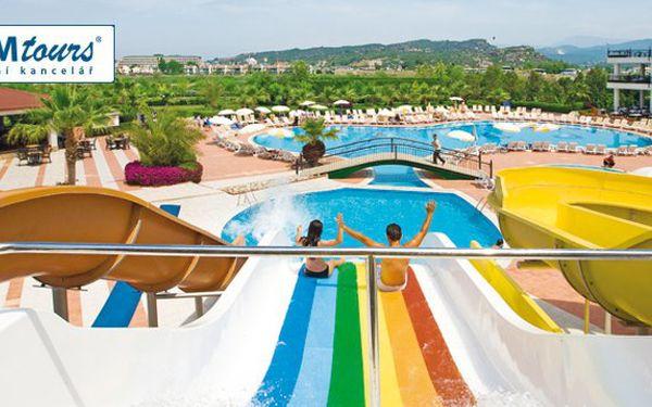 17.043,- Kč za 8denní zájezd do 5* hotelu Porto Azzurro Delta Turecko Antalya - All inclusive! Sleva 13%!