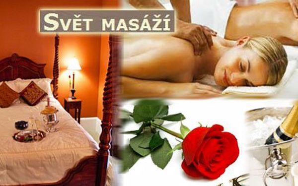 Partnerská smyslná masáž pro DVA za pouhých 1499 Kč! Nebo zažijte vzrušující noc pro DVA v hotelu s tantrickou partnerskou masáží, večeří pro dva, vířivkou a lahví sektu za pouhých 2699 Kč! Prožijte se svým partnerem nezapomenutelné erotické chvíle!