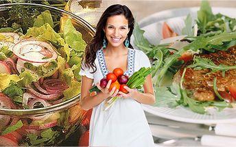Výběr z 5-ti druhů vegetariánských jídel! Kuřecí i hovězí vega steaky! Pochutnejte si na masových hodech vyrobených bez masa!