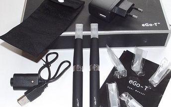Cigareta EGo-T za NEJNIŽŠÍ cenu! Plnění přímo do cartrige, poštovné v ceně. Plně nabitá baterie vydrží až 800 potáhnutí.