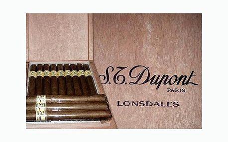 Jen 239 Kč za tři ručně balené doutníky Dupont Lonsdales! Díky této slevě si vychutnáte pravou karibskou chuť a neodolatelně jemné aroma!