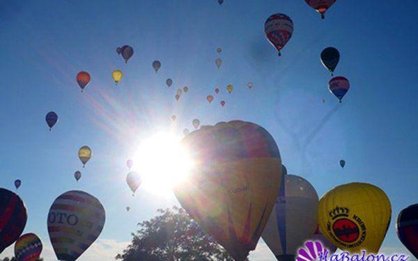 Staňte se na okamžik pilotem balónu! Zážitek na celý život.