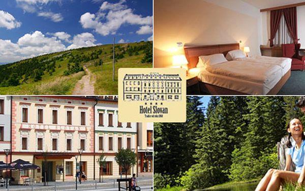 2390 Kč za 3denní pobyt PRO DVA v hotelu Slovan Jeseník**** včetně polopenze. Vychutnejte si spojení tradiční lázeňské atmosféry s moderními službami!