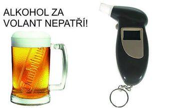 Certifikovaný digitální kapesní alkoholtester jen za 219 Kč!!! Zjistěte svoji hladinu alkoholu v krvi s úžasnou slevou!
